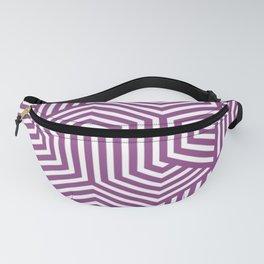 Plum - violet - Minimal Vector Seamless Pattern Fanny Pack