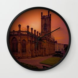 WW2 Bombed out Church Wall Clock