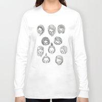 golden girls Long Sleeve T-shirts featuring Girls by Young Ju
