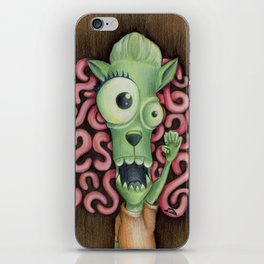 Monster 1: Floyd. iPhone Skin