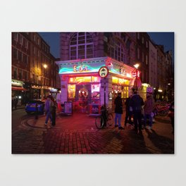 London: Diner Canvas Print