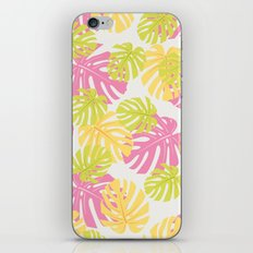 Sweet tropical pattern iPhone & iPod Skin