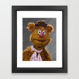 Fozzie Bear Portrait Framed Art Print