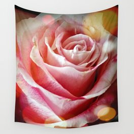 Delicate Rose Wall Tapestry