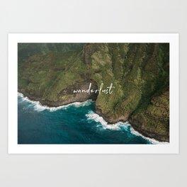 Hawaiian Wanderlust Art Print