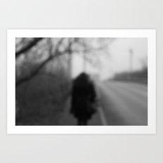 loneliness Art Print