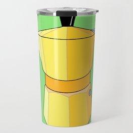 Yellow Rainbow Espresso Travel Mug