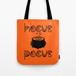Hocus Pocus Orange Tote Bag
