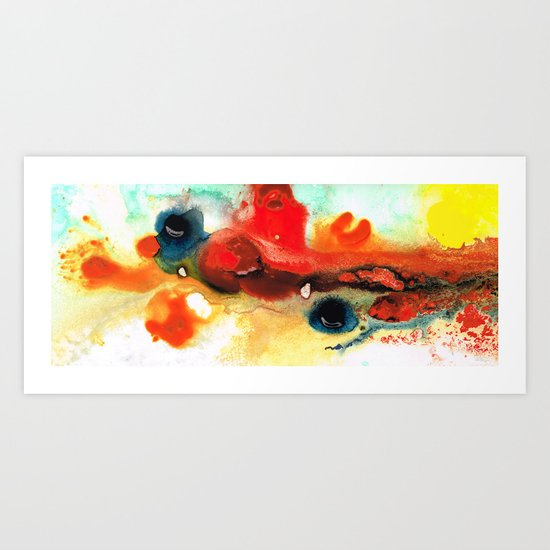 Abstract Art - No Limits - By Sharon Cummings Art Print