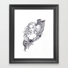 Niki Framed Art Print