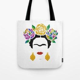 Frida Portrait Tote Bag