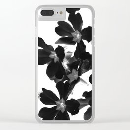 Primrose In BW Clear iPhone Case