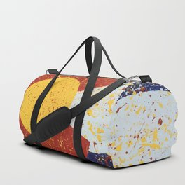 Splatter Colorado Flag Art Duffle Bag