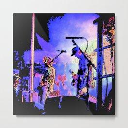 Jesse Lacey- Brand New Concert Metal Print