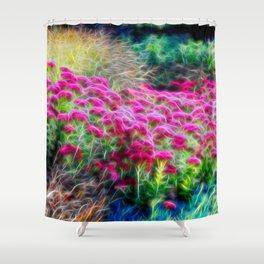Floral Web Shower Curtain