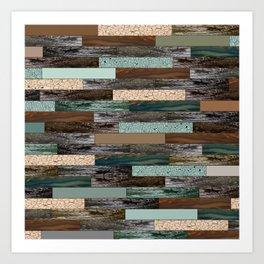 Wood in the Wall Art Print