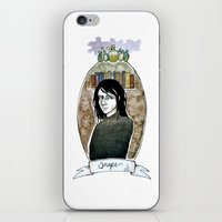 snape iPhone & iPod Skins featuring snape by hille