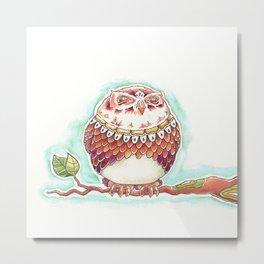 Lovely Owl Metal Print