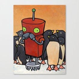Robot - You Make Me Laugh Canvas Print