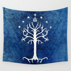The White Tree Wall Tapestry