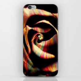 rose rainbow iPhone Skin