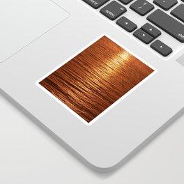 copper sea Sticker