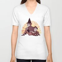 over the garden wall V-neck T-shirts featuring Over the Garden Wall by SIINS
