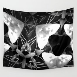 Plant Life After Dark Wall Tapestry