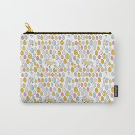 Birds and leaves pattern Carry-All Pouch