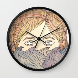 summer's gonna come; it's gonna cloud our eyes again Wall Clock