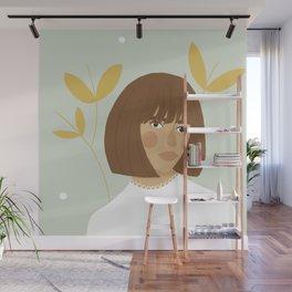 Peppermint Wall Mural