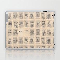 The Dead Alphabet Laptop & iPad Skin