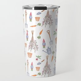 Gardener's Pattern Travel Mug