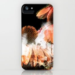 """""""Stalactites and Coneflowers"""" iPhone Case"""