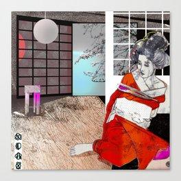 shibari 1 Canvas Print