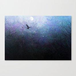 Flight of the Ravens Canvas Print