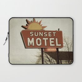 Sunset Motel Laptop Sleeve