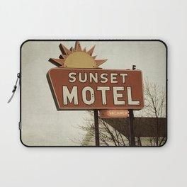 Sunset Motel Laptop Sleeve