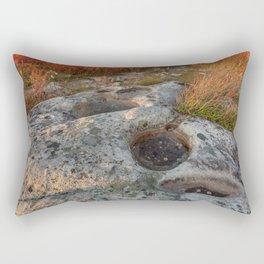 Autumn Huckleberry Fossil Rectangular Pillow