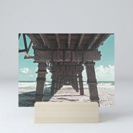 Boardwalk Blues Mini Art Print