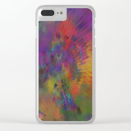the eye of the universe Clear iPhone Case