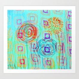 Dandilions Art Print