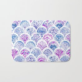 OCEAN PROTECTRESS Lavender Mermaid Scales Bath Mat