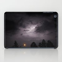 lightning iPad Cases featuring Lightning.  by MJ's Little Muse Photography