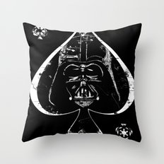 Ace of Vades Throw Pillow