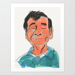 Walter Matthau Art Print