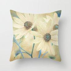 Altered States -- Helianthus Sunflower Autumn Botanical Throw Pillow