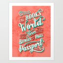 Of All The Books in the World, The Best Stories are Found Between the Pages of a Passport by laurennicolehom
