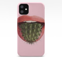 Cactus Mouth iPhone Case