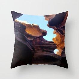 Antelope Canyon #7 Throw Pillow